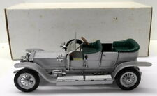 Franklin Mint 1/24 Scale diecast -RR-1907 Rolls Royce The Silver Ghost Silver
