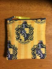 Harry Potter Hufflepuff Handmade Fidget Spinner Holder /Change Purse / CC Wallet