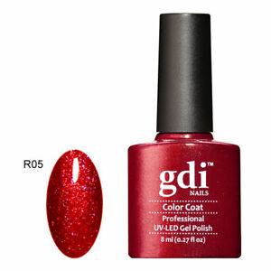 UK SELLER Gdi Nails Fine Glitters R05 UV/LED Gel Soak Off nail polish
