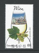 Oostenrijk - Wijnregio Wenen - 2017 gestempeld