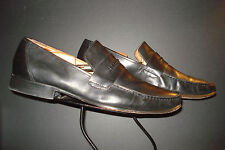 Brass Boot Classic Black Leather Loafer Sz. 13M NICE!