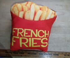 Almar Expressions French Fries plush pillow
