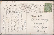 Genealogy Postcard- Gibbs - c/o Mr Murray, Easton Square, Portland, Dorset RF266