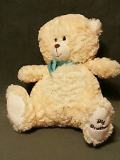 2012 Nat & Jules BIG BROTHER Teddy Bear Plush Stuffed Cream Soft Blue Ribbon