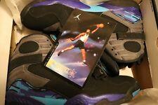 Air Jordan 8 Retro Aqua 2015 Size 13, Very Near Dead Stock 100% Authentic, 9/10
