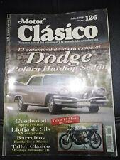 MOTOR CLASICO REVISTA DODGE GOOD WOOD LLOTJA DE SILS BARREIROS TALLER CLASICO