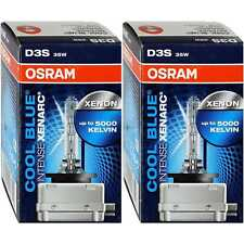 2x Osram Cool Blue Intense Xenarc D3S 35W PK32d-5 Xenon Brenner