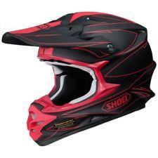 Shoei VFX-W MX Casco agitado TC1 Negro/rojo Motocross/Off-Road/ATV