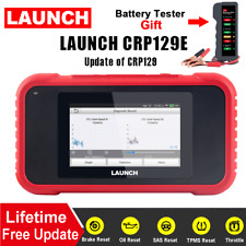 Launch X431 CRP129E OBD2 Scanner ABS Transmission Airbag Engine Diagnostic Tool