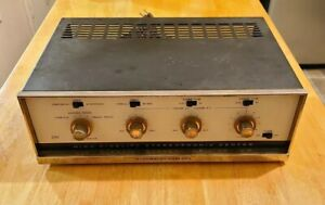 1960's Stromberg Carlson Tube Stereo Amplifier ASR 220 C ~Works but sold As-Is~