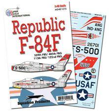 F-84F Thunderstreak in 405, 122 FBG (1/48 decals, Superscale 481275)