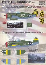 Print Scale Decals 1/48 REPUBLIC P-47D THUNDERBOLT Part 1