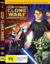 Star Wars: The Clone Wars - Season 1 - Volume 1 =very good condition  DVD R4