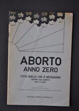 Contestazione Femminismo Aborto Anno Zero Stampa Alternativa  Legge 194 1978