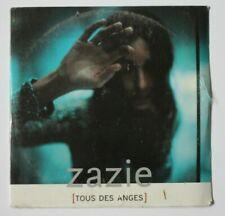 ZAZIE (CD NEUF SOUS BLISTER) : TOUS DES ANGES ♦ CD Single ♦