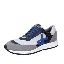 scarpe uomo ROBERTO BOTTICELLI 39 sneakers grigio camoscio pelle BT541-39