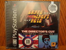 Grand Theft Auto: Director's Cut NEW & SEALED! (Sony PlayStation 1, 1999)