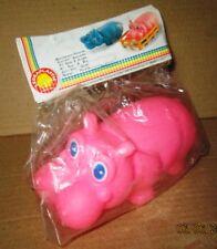 LEDRA PLASTIC LEDRAPLASTIC rubber toy GOMMA goma IPPOPOTAMO HIPPA hyppa hippo