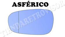 PEUGEOT 607 CRISTAL RETROVISOR IZQUIERDO ASFERICO AZUL ESPELHO MIROIR GLACE