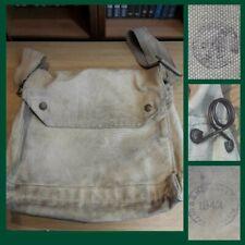 More details for scarce ww2 canadian army gas mask haversack 1942 fr mkvgsr respirator bag canada