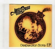(IG369) Yes Sir Boss, Desperation State EP - sealed CD