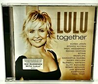 Lulu Together CD 2002 14 Tracks Sung With Various Artists Take That Sting Ect ..