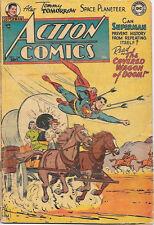 Action Comics Comic Book #184 Superman, Dc Comics 1953 Good+/Very Good-