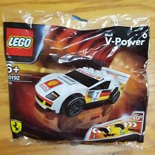 LEGO RACERS SHELL V POWER Ferrari F40 30192 (white) PULL BACK NEW in SEALED bag