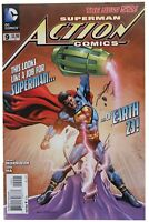 Action Comics 9 Morales Variant NM Calvin Ellis Cover Superman 2012 DC Movie