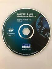 2006 2007 BMW 525i 525xi 530i 530xi 550i GPS Navigation OEM DVD U.S Canada Map