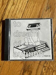 To Dream of Autumn Tour CD 1999 Screamo Saetia you and i reversal of man orchid