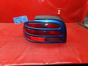 94 95 FORD MUSTANG LX GT LH LEFT DRIVER TAIL LIGHT LAMP TAILLIGHT OEM BLUE LOOK