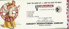 Gil Elvgren Litho A Turn for the Better Brown & Bigelow Advertising Blotter 1962