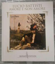 LUCIO BATTISTI  Amore e non amore Mogol edition cd libro book musica italiana