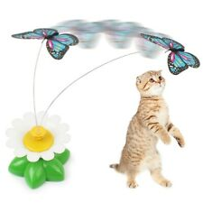 Funny Pet Toys Electric Rotating Rod Wire Cat Teaser Interactive Training Toy