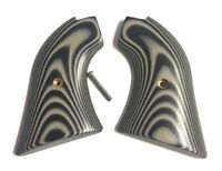 Fits Heritage Arms Rough Rider GRIPS .22 & .22 MAG models BLK / GRY G10 NEW