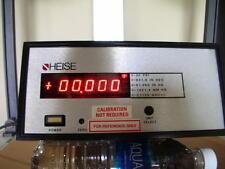 Heise 711A Hi-Accuracy Multi Unit Digital Pressure Gauge Range 0 - 30 PSI