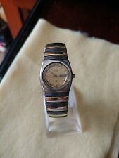 Seiko Rare Vintage Gold & Black Ladies Watch 2A23-0420