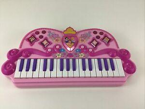 Disney Princess Enchanted Melody Keyboard Electronic Music 2010 Band Record Toy