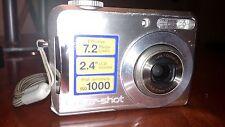Sony Cyber-shot DSC-S700 7.2 MP Digital Camera - Silver