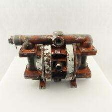 "Wilden #2 Pneumatic Diaphragm Pump 1"" x 3/4"" NPT Multi Ports"
