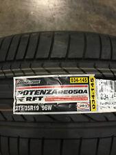 2 New 275 35 19 Bridgestone Potenza RE050A RFT Run Flat Tires