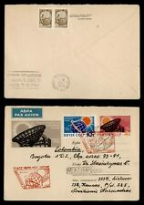 DR WHO 1964 RUSSIA FDC SPACE INTL QUIET SUN YEAR UPRATED STATIONERY C238494