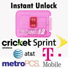 RSIM 12+ New 2019 R-SIM Nano Unlock Card fits iPhone X/8/7/6/6s/5/4G iOS 12 11