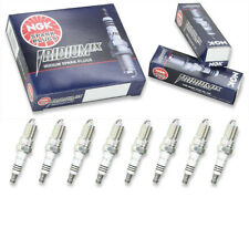 8 pcs NGK Iridium IX Spark Plugs for 1999-2013 GMC Sierra 1500 5.3L 6.0L yd