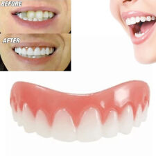 Cosmetic Teeth Snap On Instant Smile Secure Upper False Dental Beauty + Box