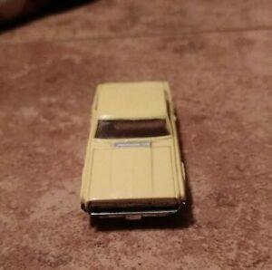 Aurora T-Jet Yellow Ford Thunderbird Slot Car Body