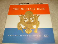 LP -  The Military Band, A Hi-Fi Salute To The Services - SW 1056