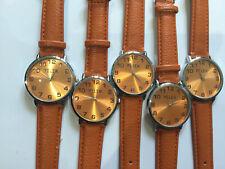 Large Face Orange Watch X 5. Wholesale. Joblot