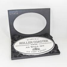 Roller Coaster - Ceramic Plaque Sign Unique Novelty Luxury Gift Plaque